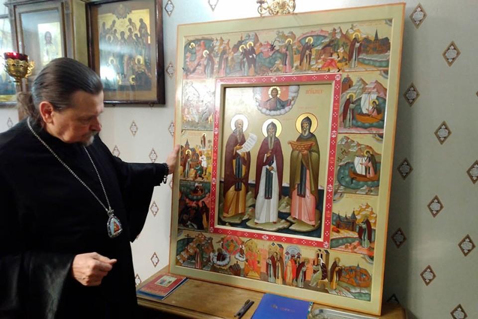 Некоторое время назад образ прибыл в Мурманскую область. Фото: Мурманская епархия.