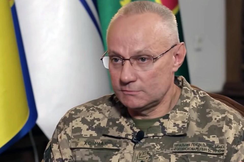 Главнокомандующий Вооруженными силами Украины генерал-полковник Руслан Хомчак.
