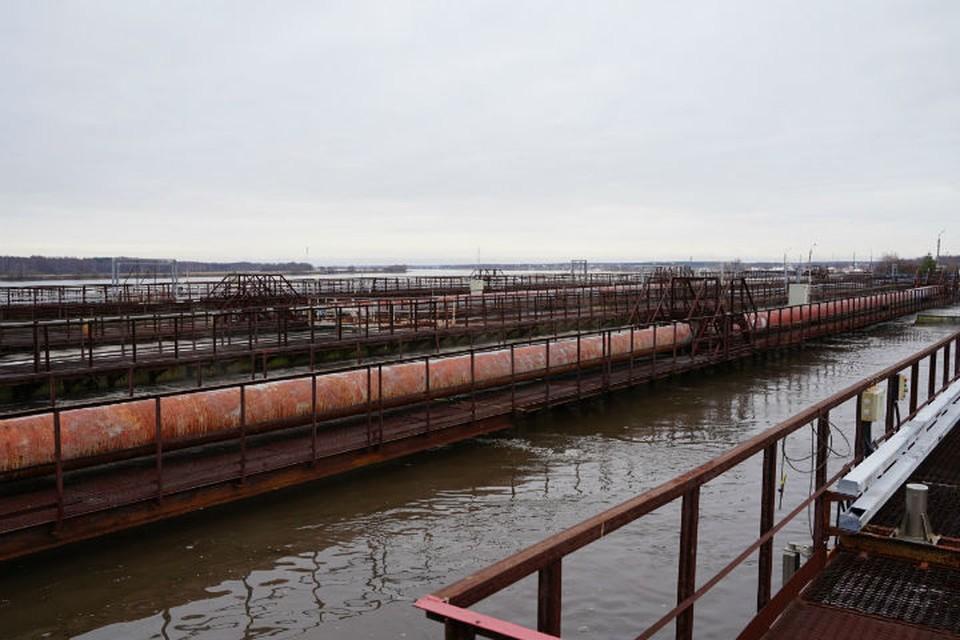 Ежедневно через очистные сооружения проходит примерно 220 тысяч кубометров сточных вод