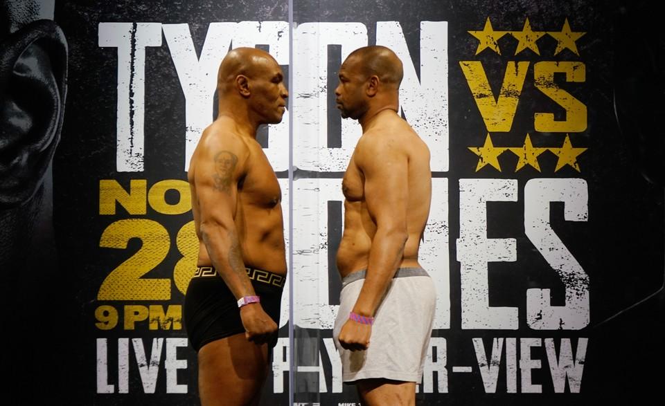 Тайсон и Джонс сойдутся на ринге.