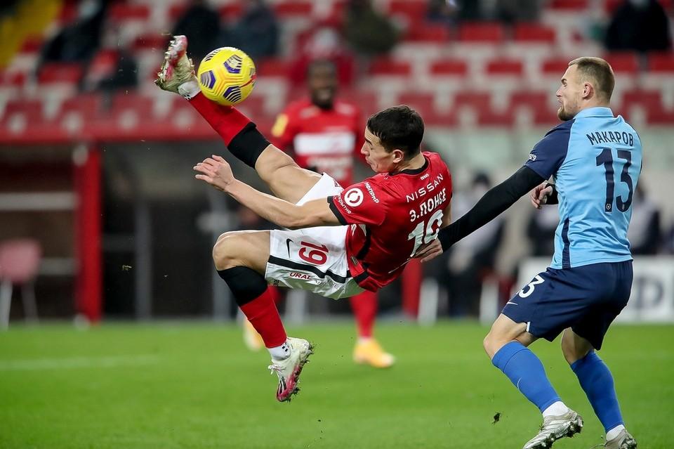 В матче со «Спартаком» «Ротор» установил рекорд по созданным моментам