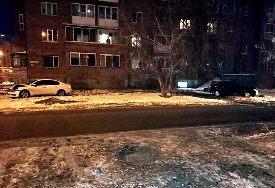 В результате аварии девушка попала в больницу
