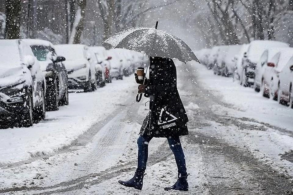 Сильный снегопад ожидается в Калужской области 30 ноября