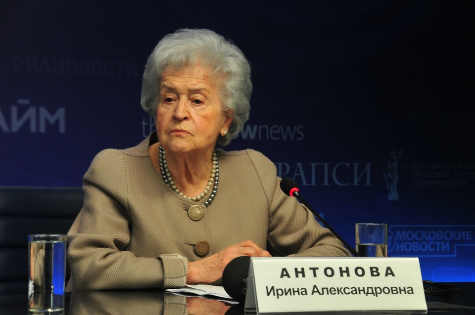 Умерла президент Пушкинского музея Ирина Антонова