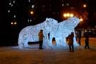 Вечером Липецк засияет новогодними огнями