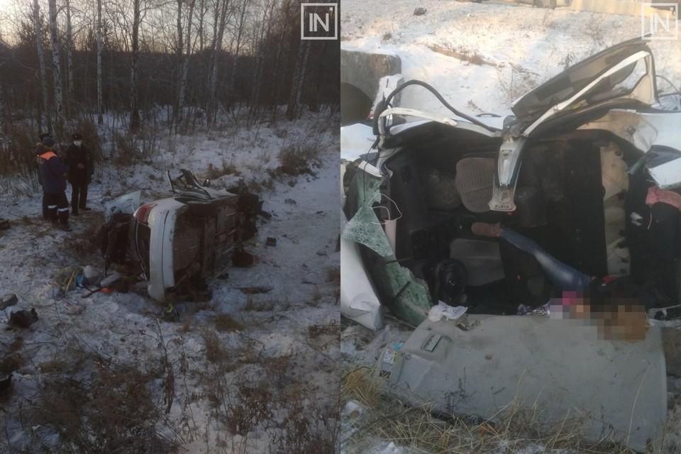 В аварии погибли женщина и маленький ребенок Фото: Инцидент Екатеринбург