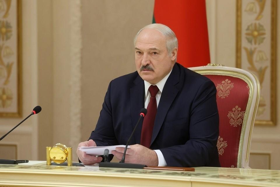 По словам Лукашенко страны Балтии и Польши ведут так себя по отношению к Беларуси, чтобы повысить свою значимость в ЕС. Фото: БелТА.