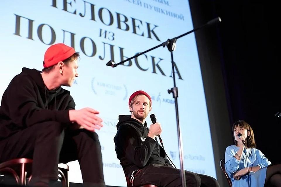 Режиссер Семен Серзин рассказал о картине «Человек из Подольска». Фото: Олеся ПУШКИНА/