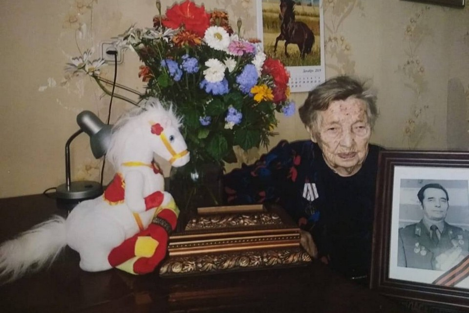 Людмила Герасимовна Щелкунова, фото из семейного архива