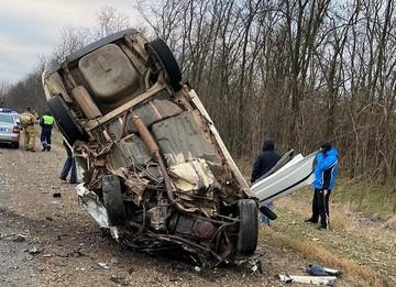 ДТП с 5 погибшими в Краснодарском крае 5 декабря 2020: три машины превратились в груду железа
