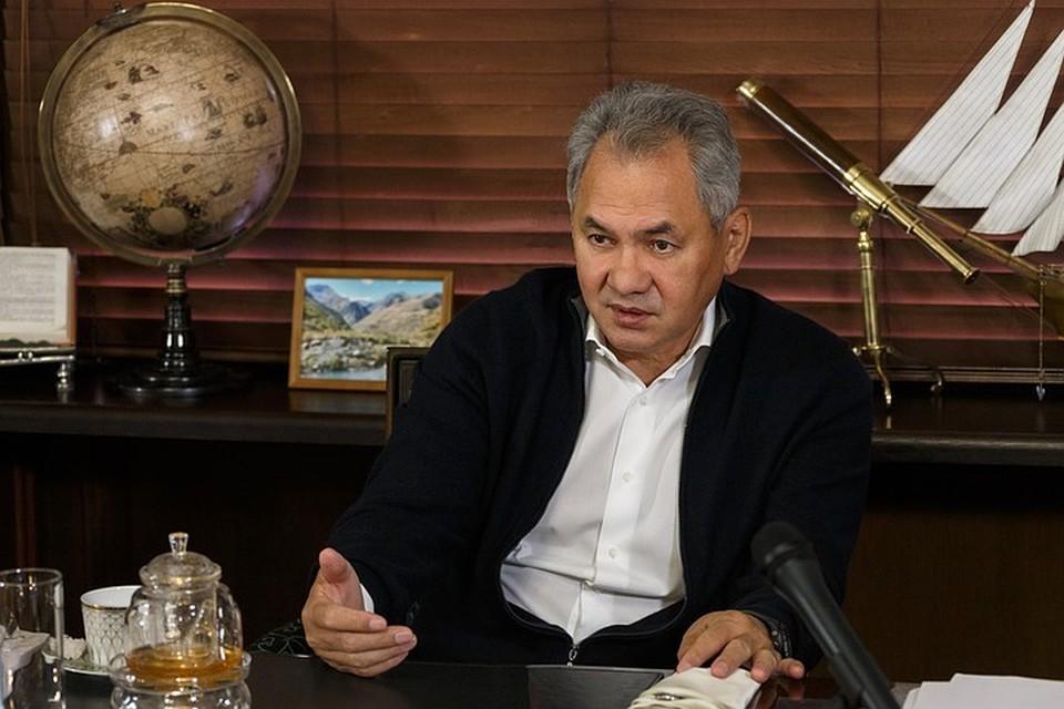Сергей Шойгу возглавляет Русское географическое общество с 2009 года. Фото: Пресс-служба РГО