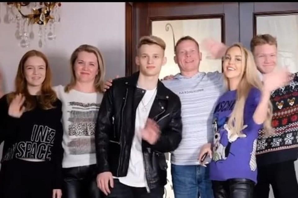 Илья Милохин встретился с приемной семьей Фото: instagram.com/_ilya_milokhin_