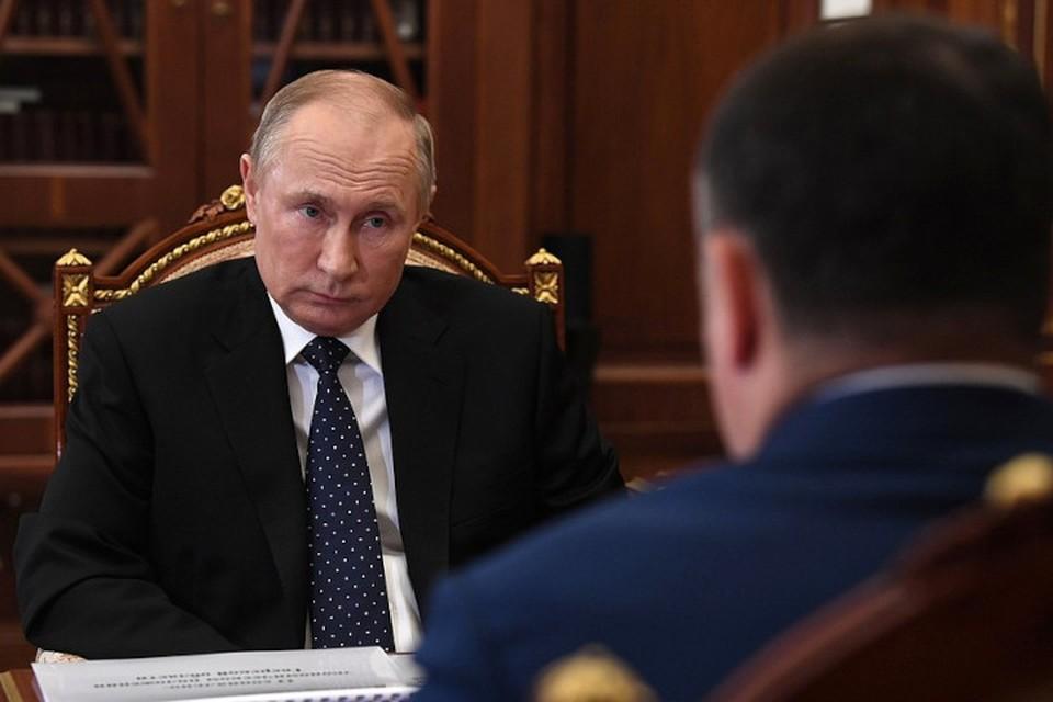 Владимир Птуин встретился с Игорем Руденей. Фото: kremlin.ru