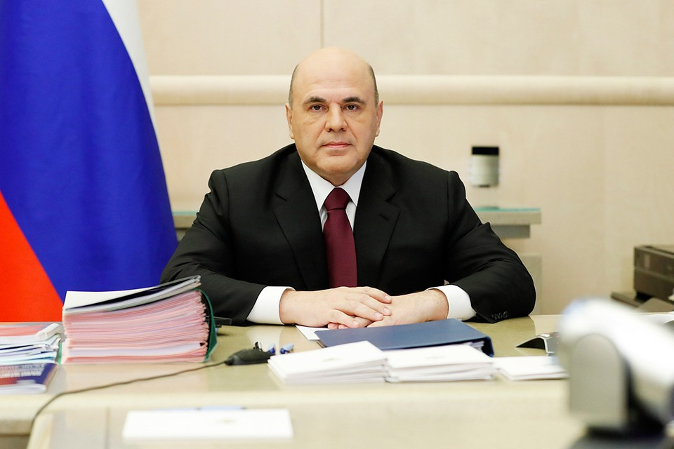 Премьер-министр Михаил Мишустин провел заседание правительства. Фото: Дмитрий Астахов/POOL/ТАСС