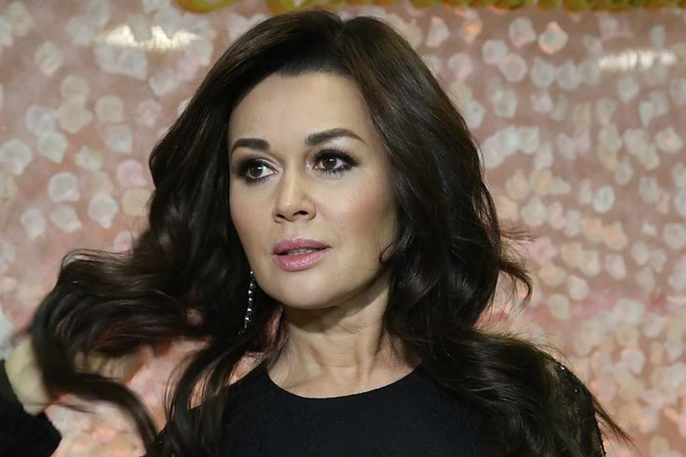 Актриса Анастасия Заворотнюк.