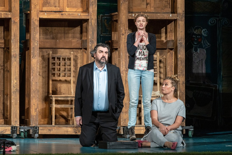 В спектакле «Дом» Игорь Золотовицкий играет уже почти 10 лет