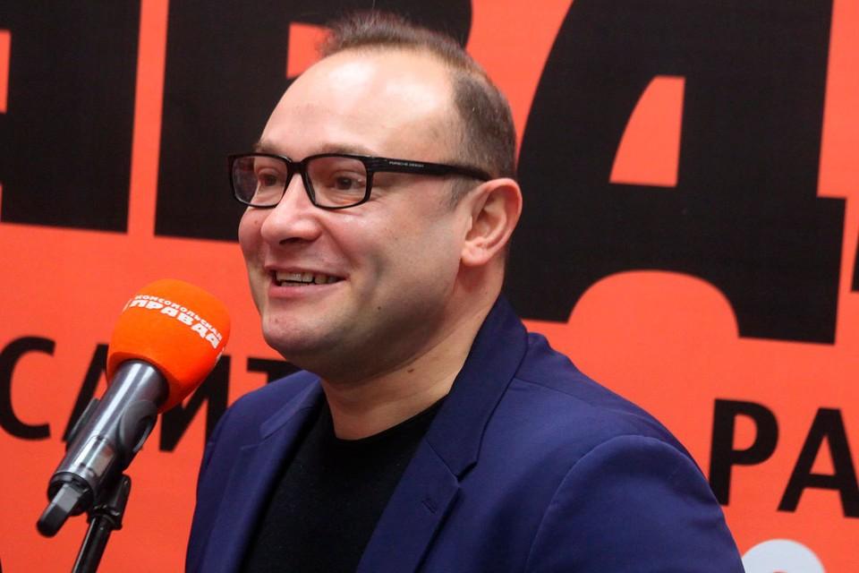Футбольный журналист и телекомментатор Константин Генич на церемонии вручения футбольной премии «Джентльмен года-2019».