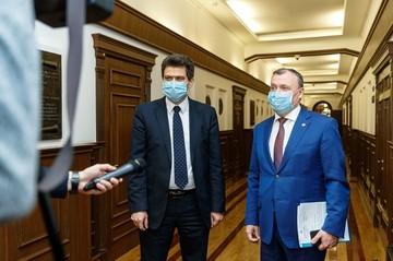 Официально: Александр Высокинский назначил Алексея Орлова своим замом