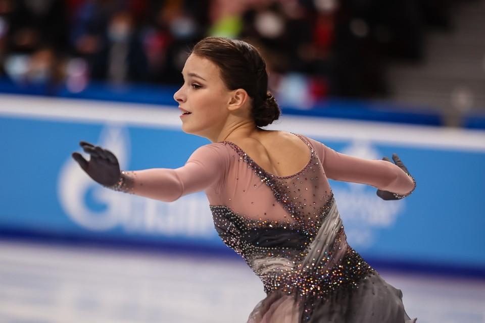 Анна Щербакова победила на чемпионате России в третий раз подряд.
