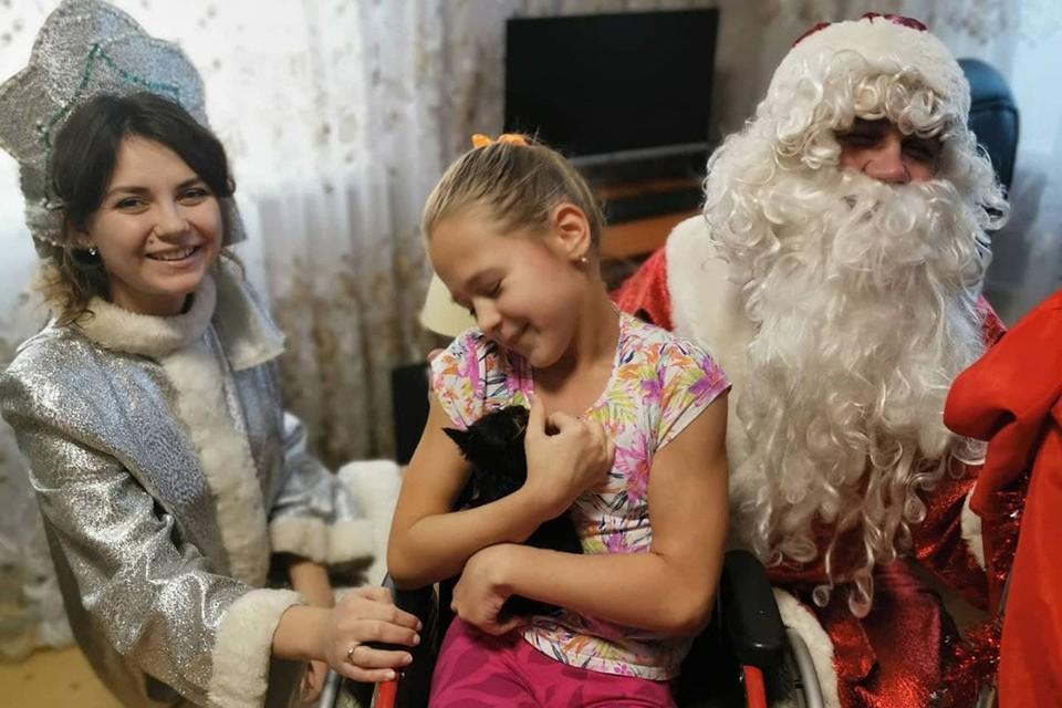 Заветная мечта 10-летней Софии сбылась. Фото: предоставлено Дарьей МОСУНОВОЙ
