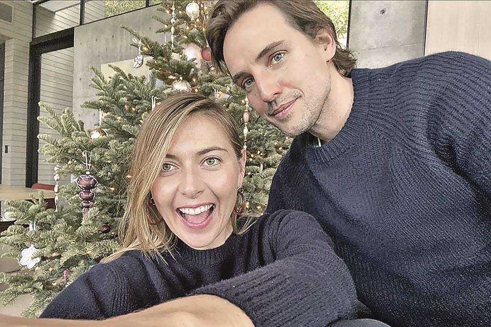 Мария и Александр - красивая пара. Жених Шараповой - из высшего общества Британии.