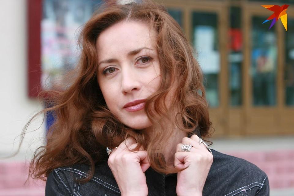 Людмила Сидоркевич - одна из самых красивых белорусских актрис.