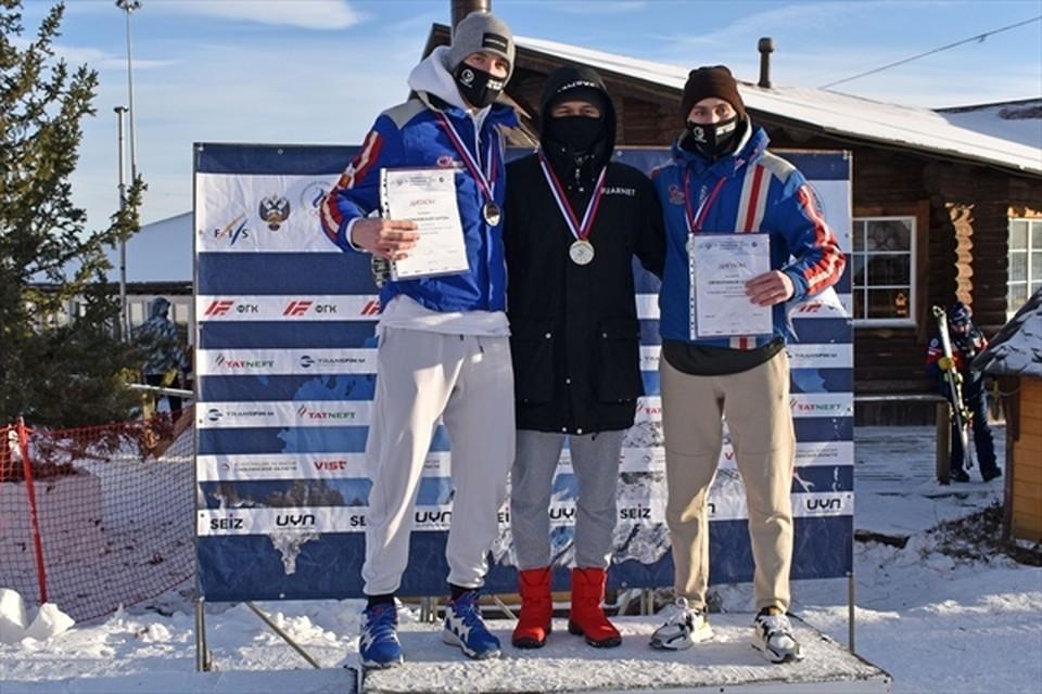 Сергей Майтаков победил на чемпионате России по горнолыжному спорту Фото: Министерство спорта Новосибирской области.