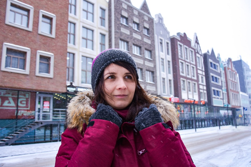 Всего одна минута ходьбы от метро — и ты в Амстердаме.
