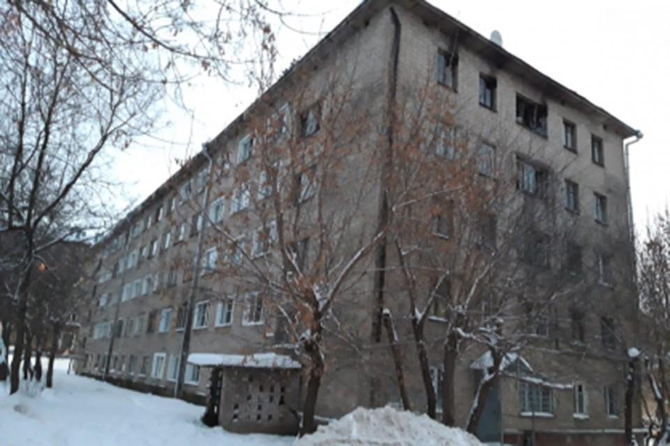 Пожар произошел в жилом доме по улице Пушкина. Фото: СУ СК по Кировской области