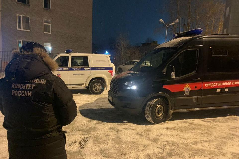 Убийство произошло в одном из домов Зеленоборского. Фото: СУ СКР по Мурманской области