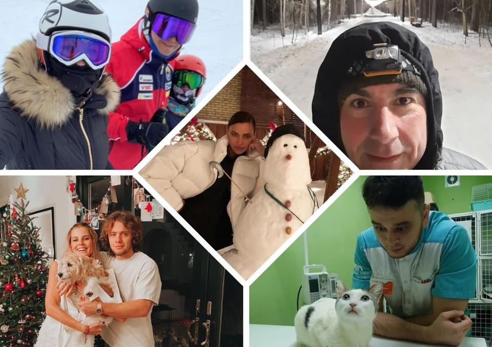 Новогодние каникулы — время зимних развлечений