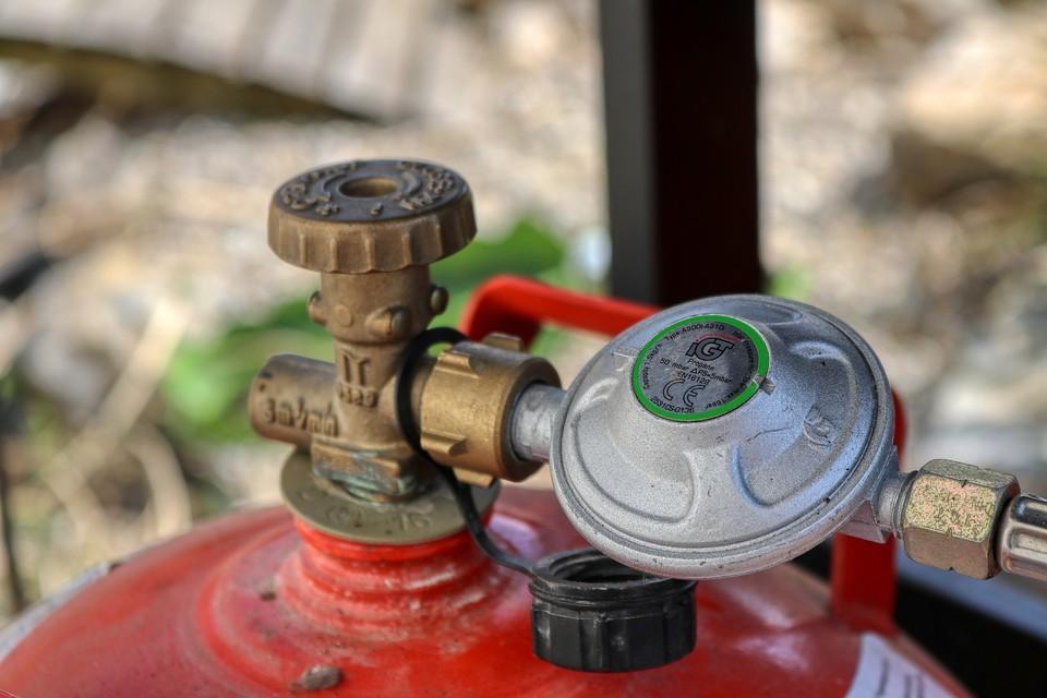 Газовый баллон был заправлен с нарушением правил безопасности