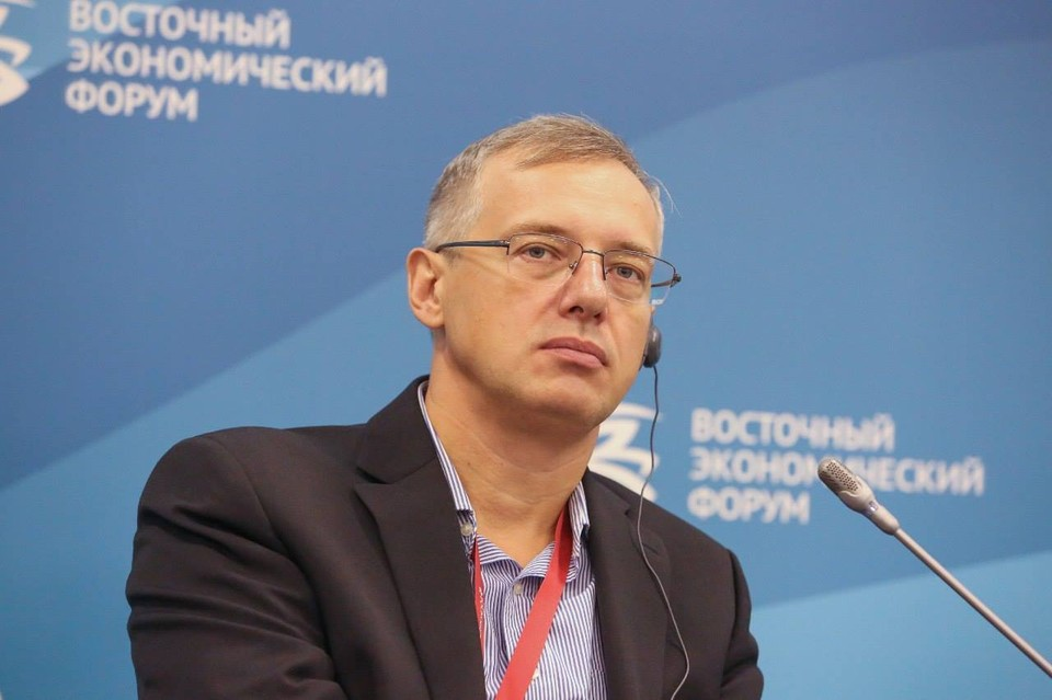 Глава компании DNS Дмитрий Алексеев. Фото: личный аккаунт Facebook