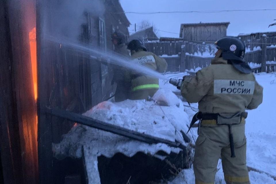 С начала года в Иркутской области произошел 151 пожар, погибли 8 человек.