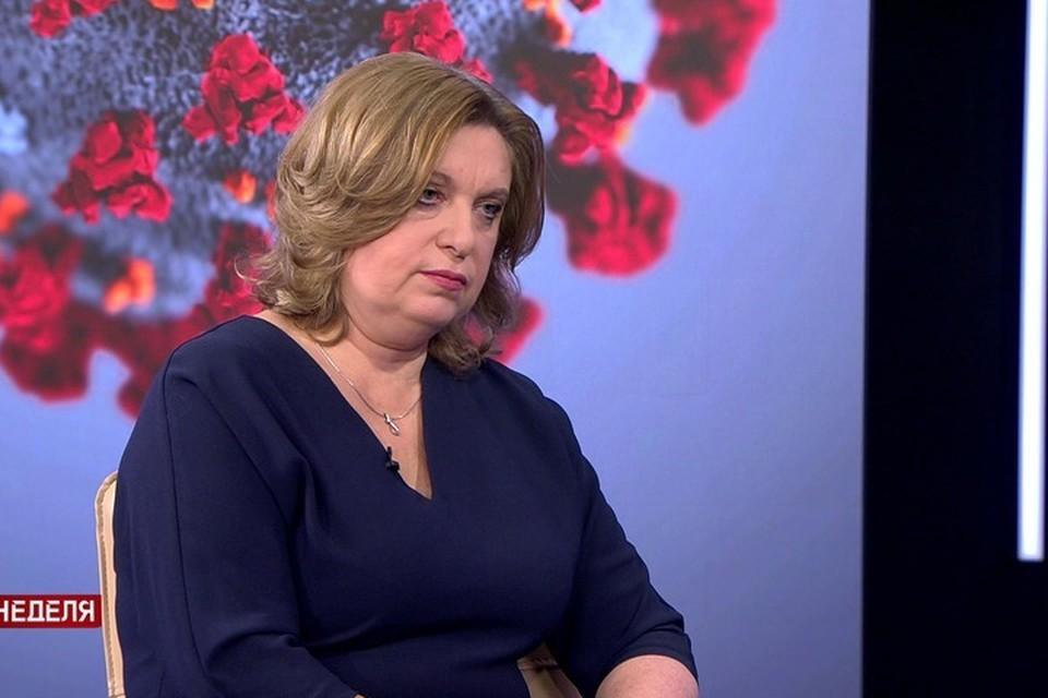Главврач детской инфекционной больницы объяснила, почему пока не вакцинируют детей от коронавируса. Фото: телеканал СТВ