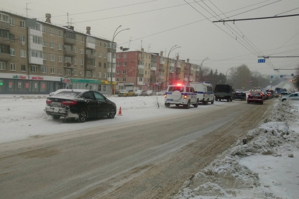 ГИДББ прокомментировала ДТП со сбитым возле остановки пешеходом в Кемерове