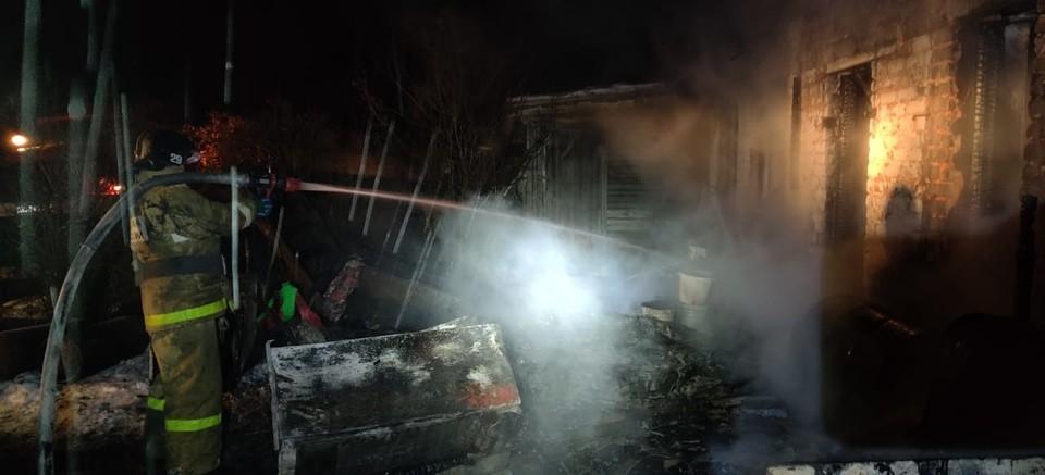 За сутки в Орловской области сгорели трактор, «Приора» и «Ауди». Фото: ГУ МЧС России по Орловской области