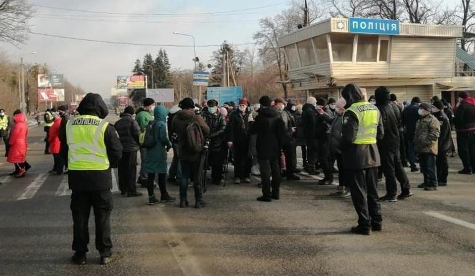 """В Украине начались """"коммунальные бунты. Фото: unian.net"""