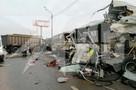В страшном ДТП с самосвалом и военными автобусами в Подмосковье, возможно, погиб солдат из Владивостока
