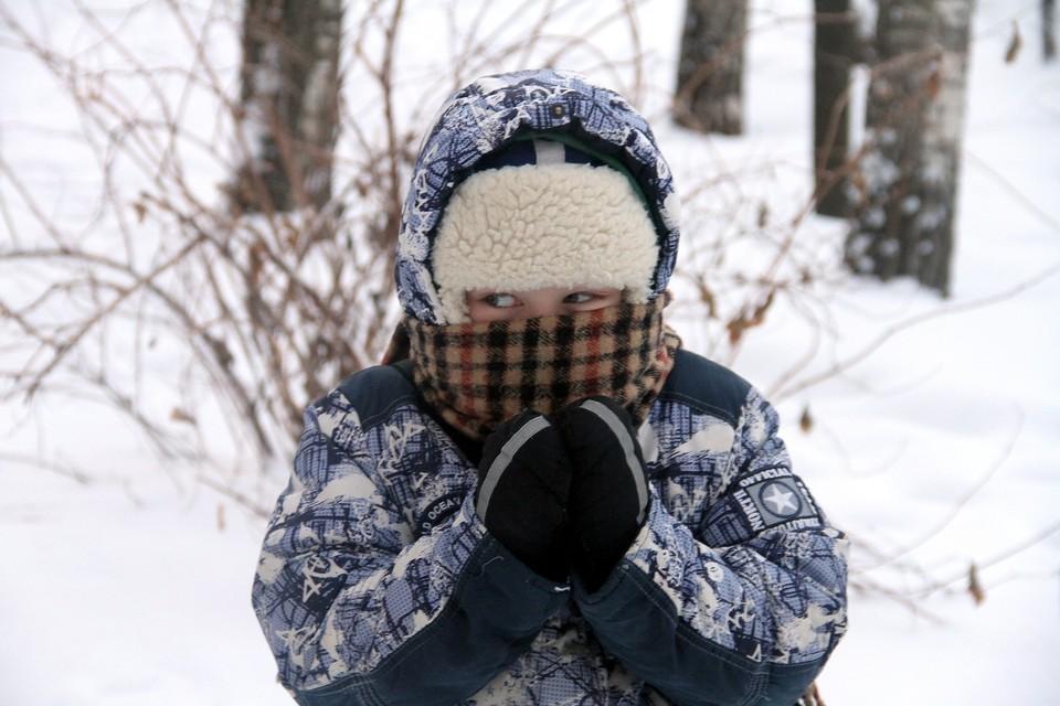 В сильный холод кировские дети могут не ходить на учебу.