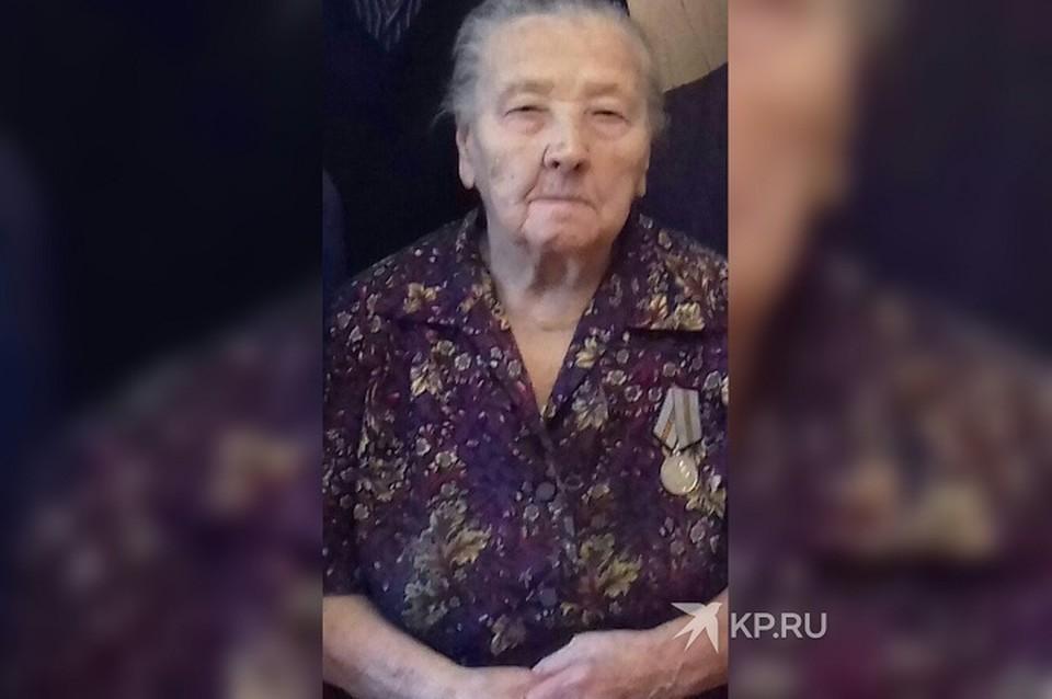 Мария Петрова смогла победить болезнь в 104 года. Фото: предоставлено пресс-службой свердловского Госпиталя для ветеранов войн