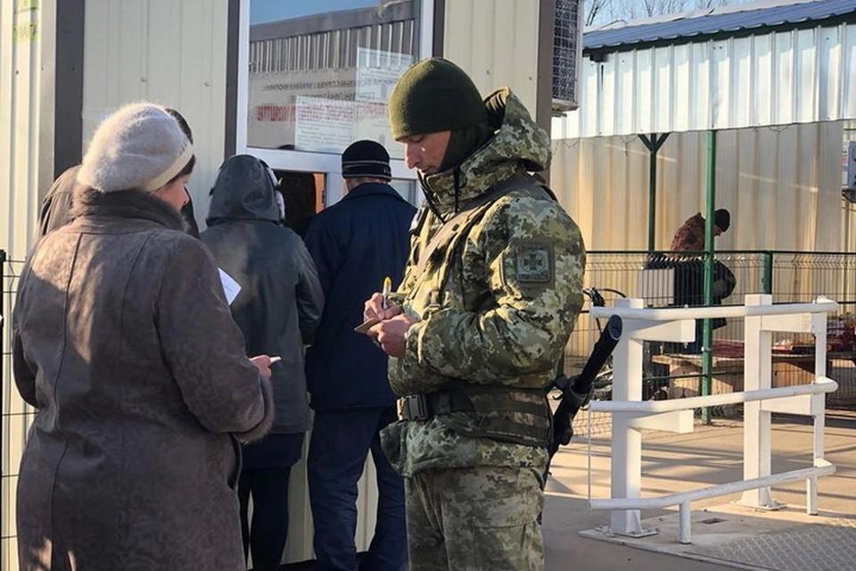 В Киеве приходит понимание, что линия разграничения в Донбассе будет существовать еще долго. Фото: ГПСУ