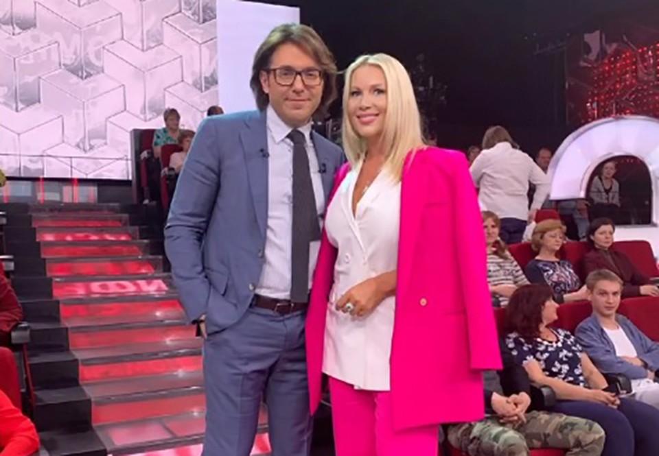 Екатерина Одинцова показала редкие снимки с Андреем Малаховым.