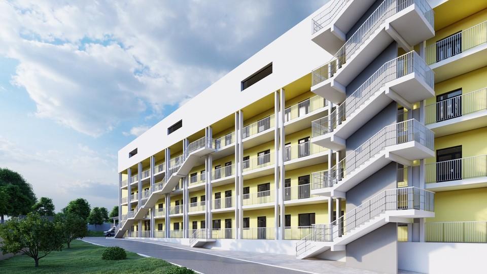 Так будет выглядеть новый четырехэтажный корпус. Фото: правительство Самарской области