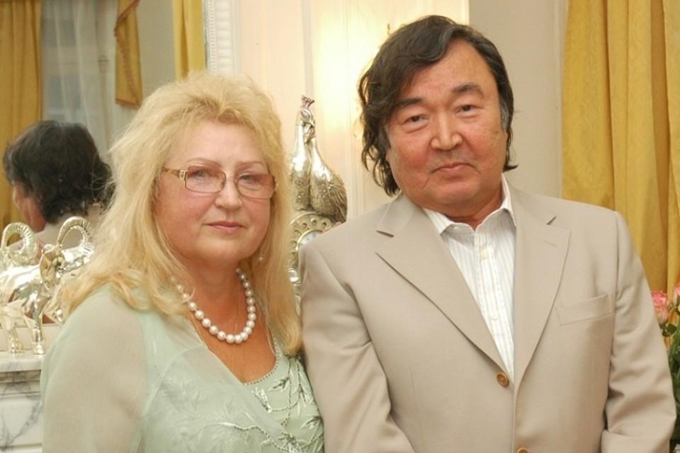 Олжас Сулейменов и Маргарита Владимировна. Фото: yvision.kz