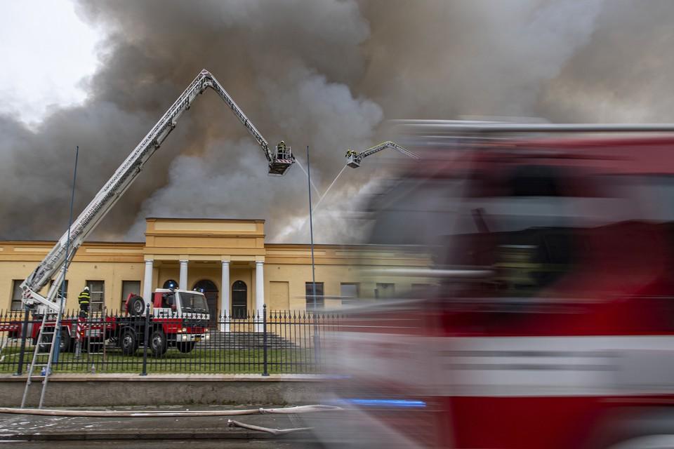9 человек пострадали при пожаре в Подмосковье