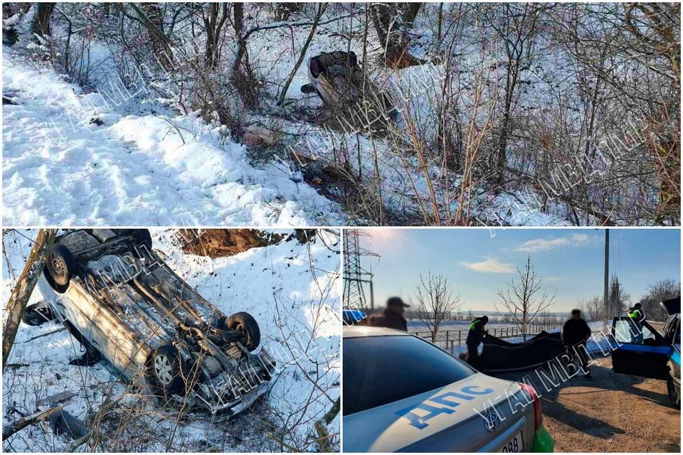 В аварии погиб человек (Фото: МВД Приднестровья).