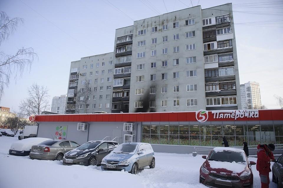 Пожар на ЖБИ случился в ночь на 12 января