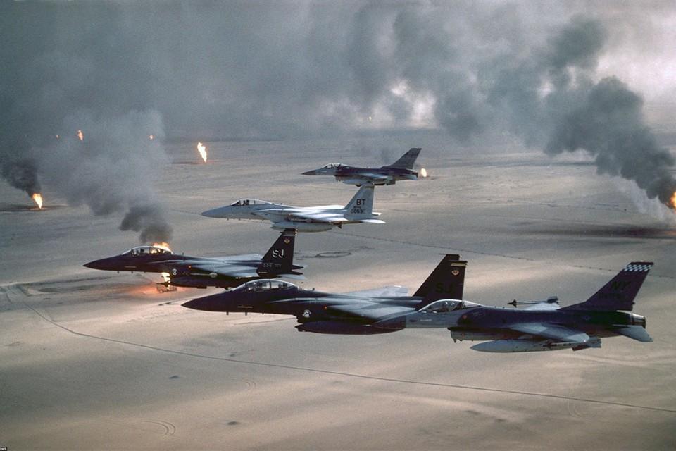 17 января 1991 года в Персидском заливе началась операция «Буря в пустыне» - коалиция стран во главе с США подвергла массированной бомбардировке войска Ирака