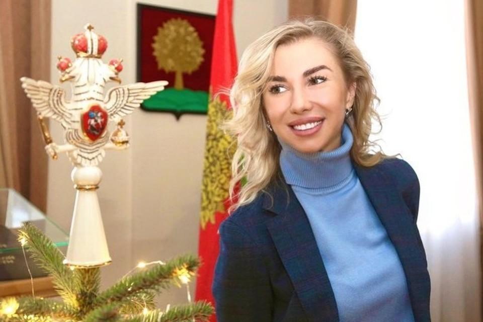 Начальник управления культуры и туризма Липецкой области Кристина Наролина